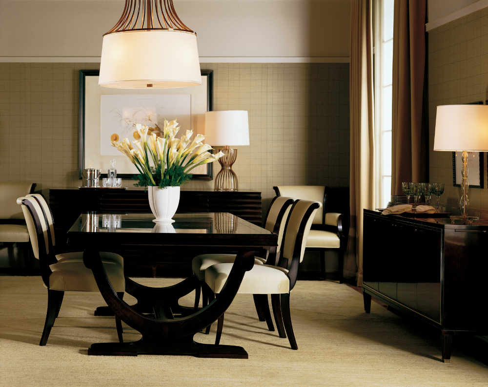 Baker furniture grand rapids mi portobello road for Beautiful dining room decorating ideas