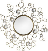 Blossom Mirror for Baker Furniture from Thomas Pheasant